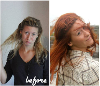 Triple-Dipped Red How To: Red Hair Don't Care