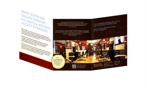 2013 STAMP Service Menu Winner: RED 7 Salon
