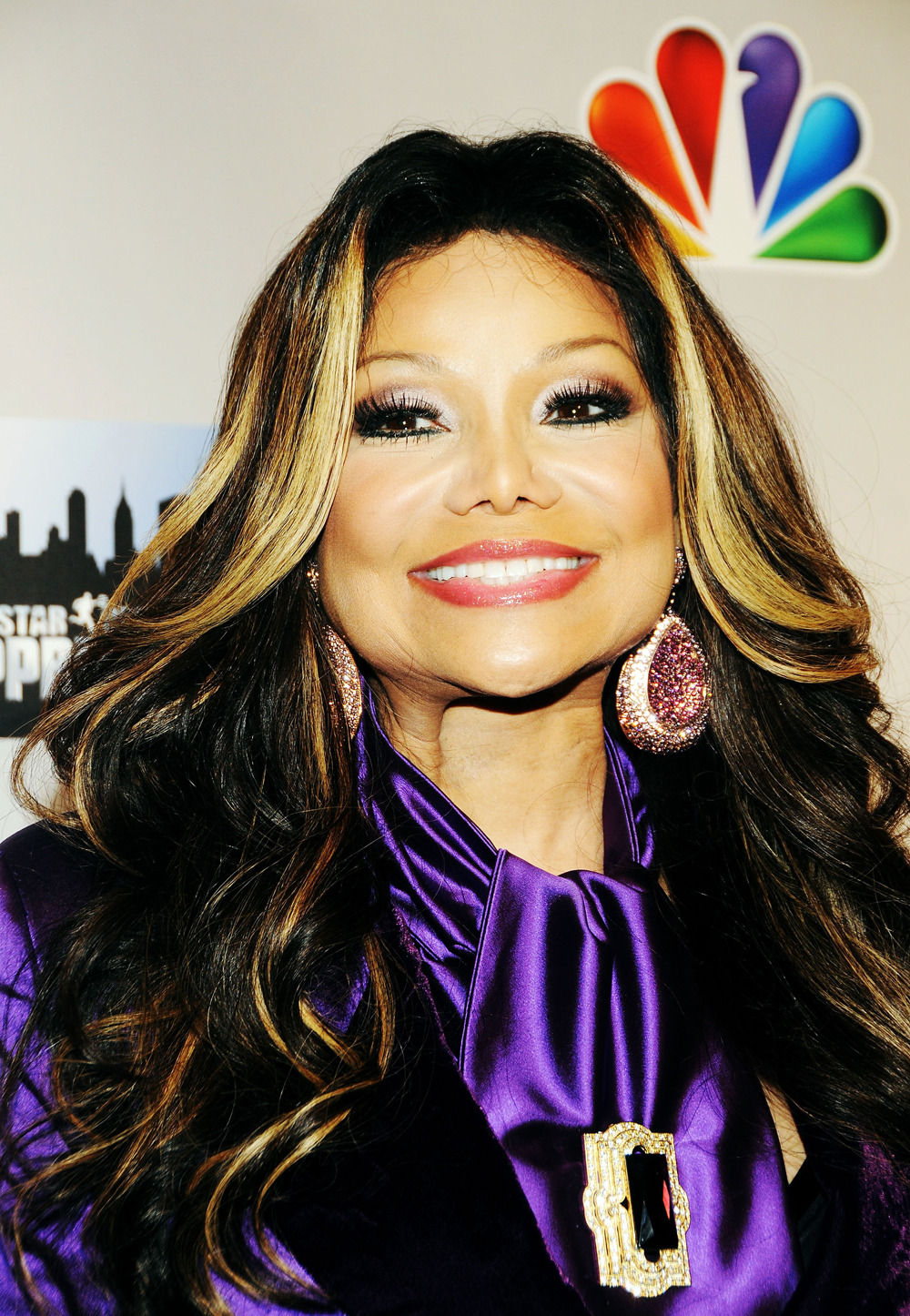 "HOW-TO: La Toya Jackson's ""Reverse Ombre"" Hair Color"