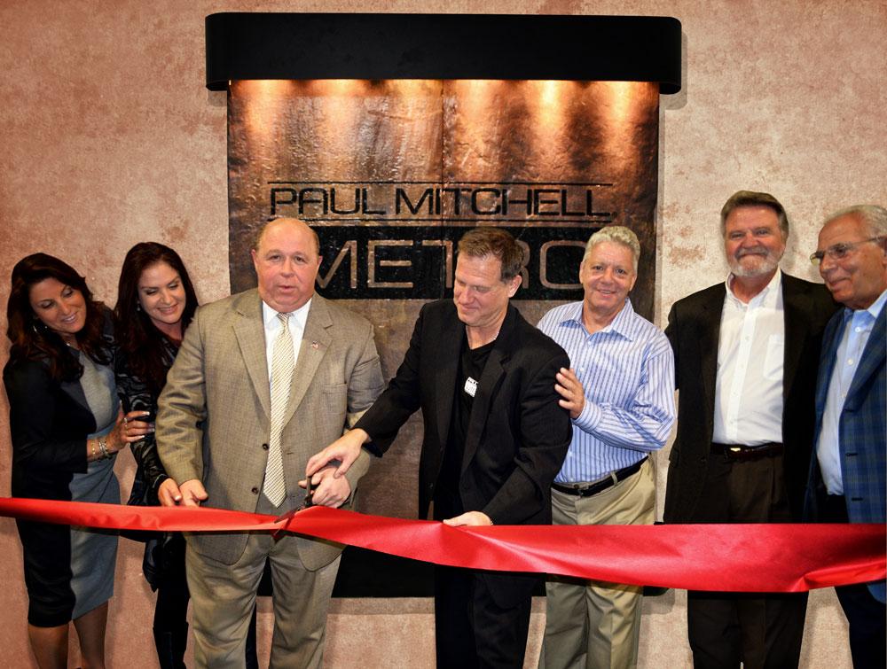 Emiliani Family Opens Paul Mitchell Metro