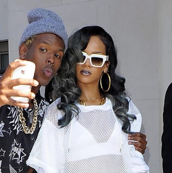 Rihanna and Hollywood's Golden Gray Girls