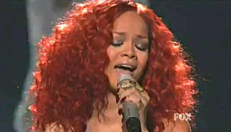 Rihanna Looked Amazing on American Idol