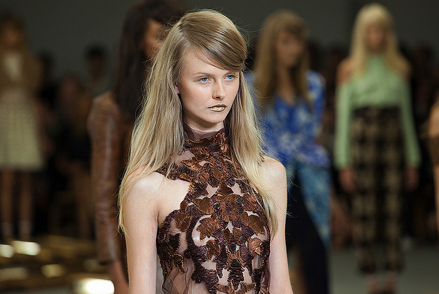 FASHION WEEK: Rodarte Hair