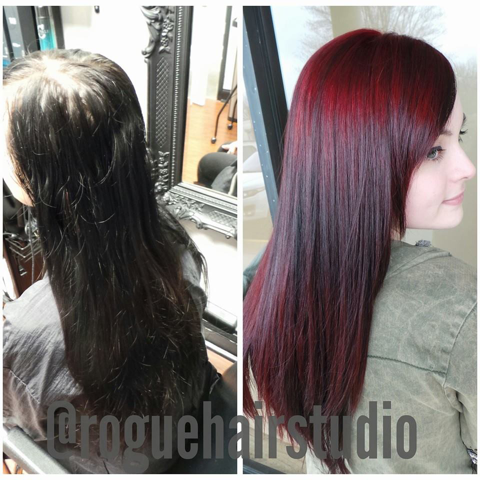 13 Years Of Black Box Color To Black Rose Beauty Hair Color