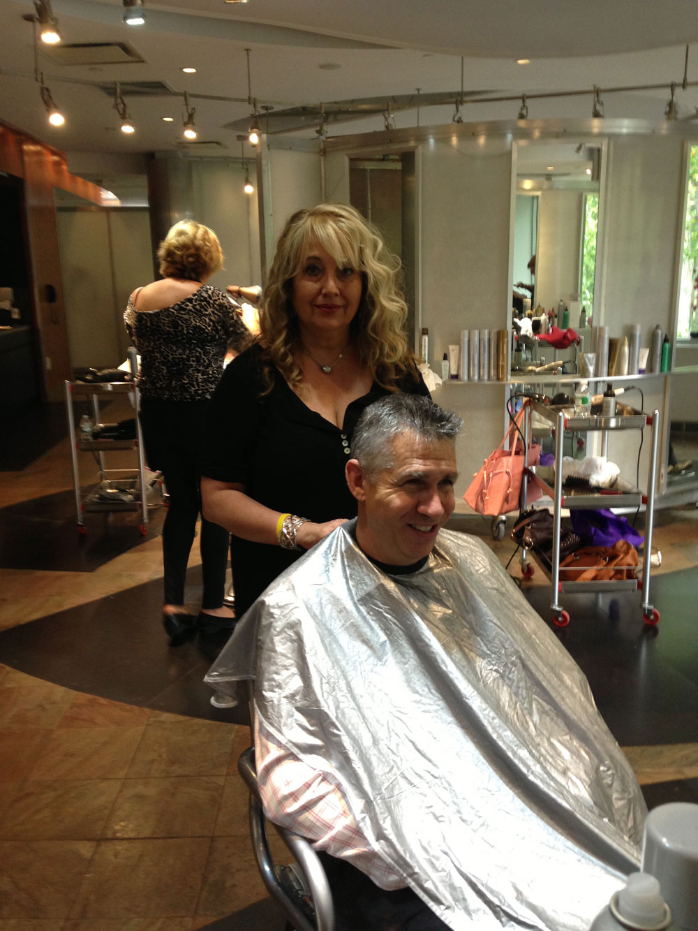 Zotos Hosts Annual Cut and Color-A-Thon