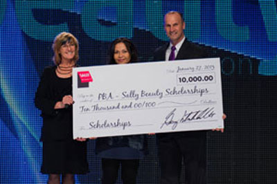 Sally Beauty Supports PBA Scholarship Fund