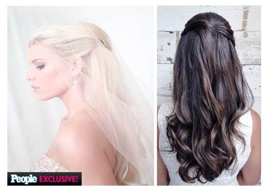 5 Steps to Jessica Simpson's Wedding Day Hair Style