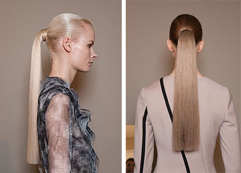 HOW TO: Sleek Ponytail By Guido For Bottega Veneta