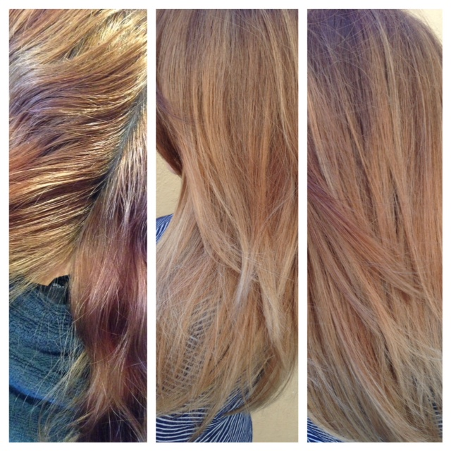 COLOR CORRECTION: Blended Ashy Brunette With Soft Balayage