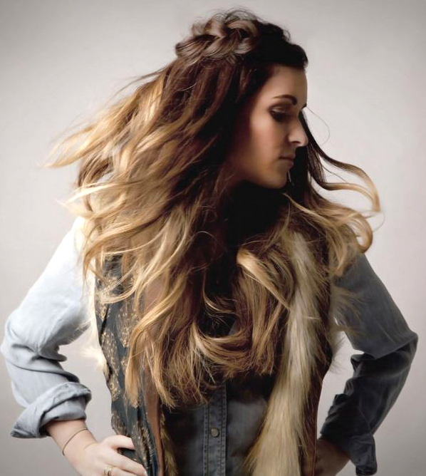 HOW-TO: Damage-free Sunkissed Ombre Using Hair Extensions