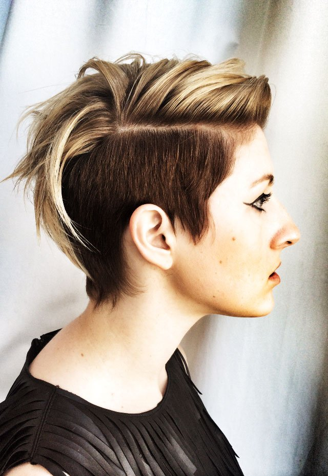 Undercut Color and Cut by TIGI's Joel Torres and Kelly Butz