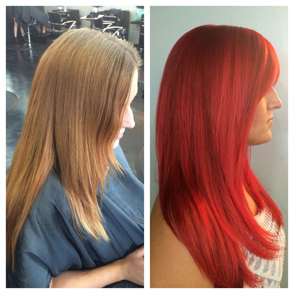 How To Getting The Green Light To Go Red Career Modern Salon