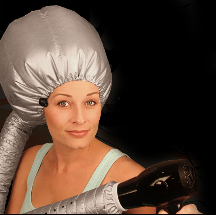 Bring the Salon to Your Clients: White Sands' Hair Dryer Bonnet