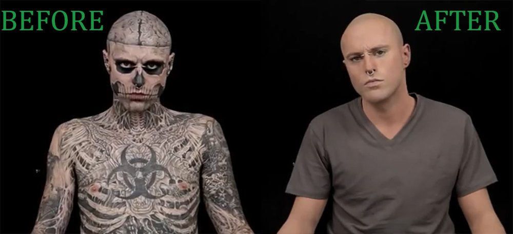 would you believe this is the world 39 s most tattooed man