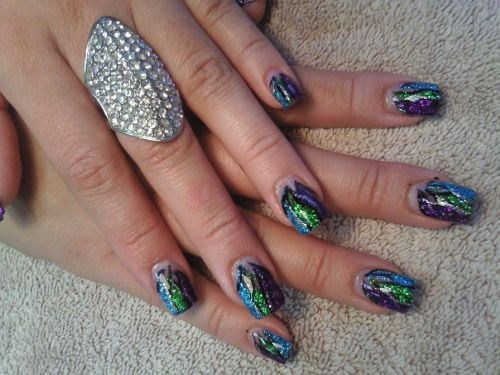 Day 177 Glitter Effects Nail Art Nails Magazine