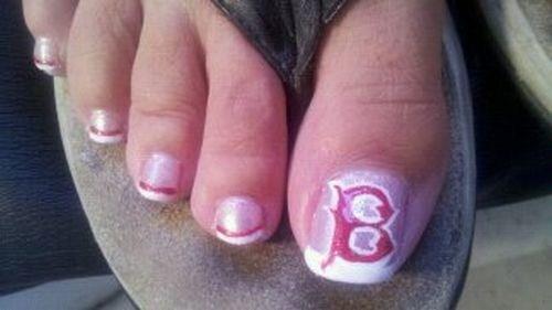 Day 227 Boston Red Sox Nail Art Nails Magazine