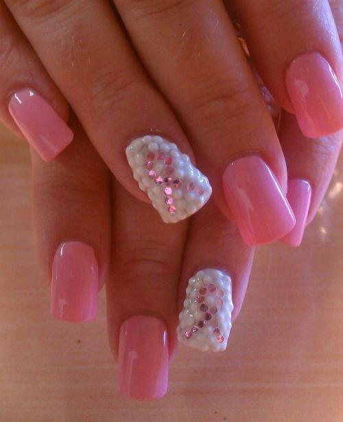 Day 274 Pink Ribbon Nail Art Nails Magazine