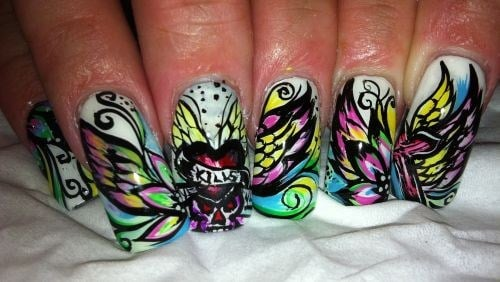 Day 283 tattoo nail art nails magazine prinsesfo Image collections