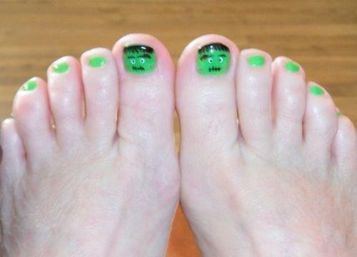 Day 301 franken nail art nails magazine for 22 changes salon