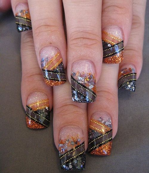 Prettyfulz Fall Nail Art Design 2011: Day 303: Assorted Halloween Nail Art