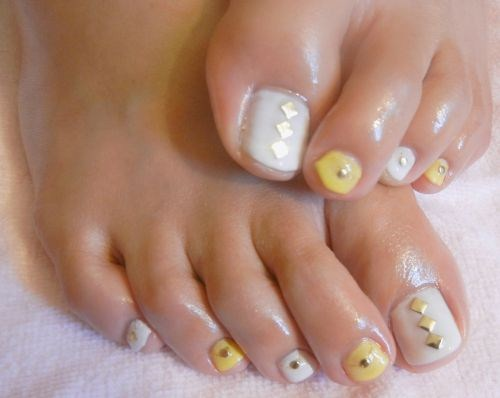 Day 312 Sweet And Simple Toes Nail Art Nails Magazine