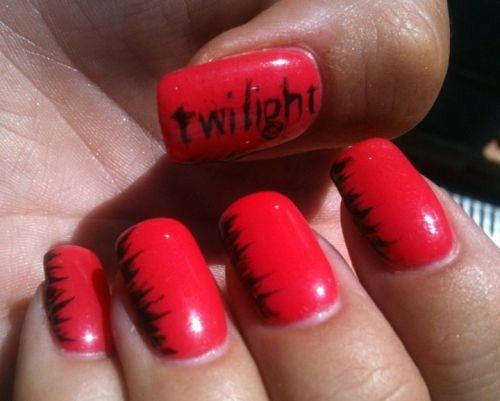 Day 322 Twilight Nail Art Nails Magazine