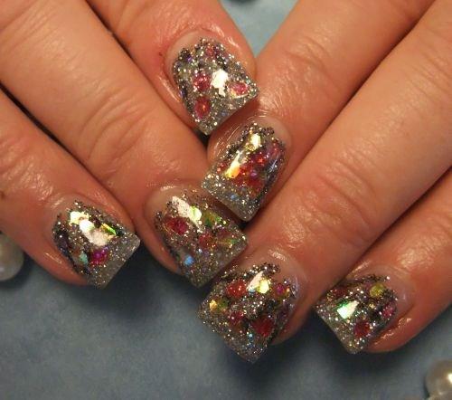 Day 350 Christmas Sparkle Nail Art Nails Magazine