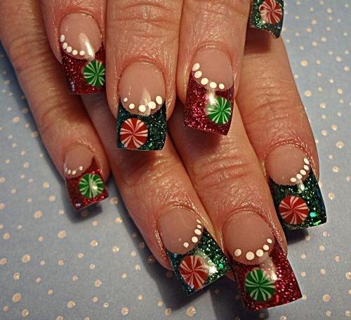 Day 360 Merry Christmas Nail Art Nails Magazine
