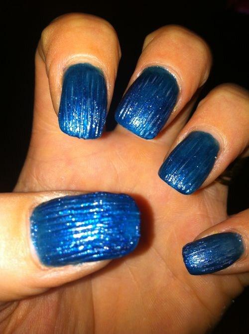 Day 182 Avatar Effect Nail Art Nails Magazine