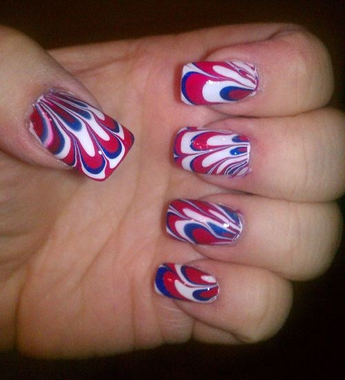 Day 185 Fourth Of July Nail Art Nails Magazine