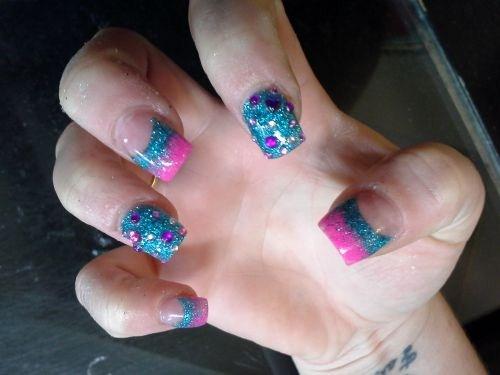 Day 254 Jeweled Nail Art Nails Magazine