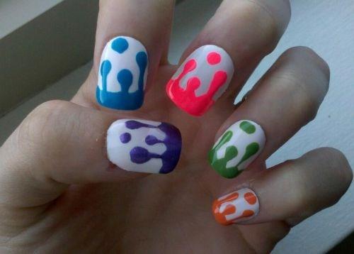 Day 256 Popsicle Drip Nail Art Nails Magazine