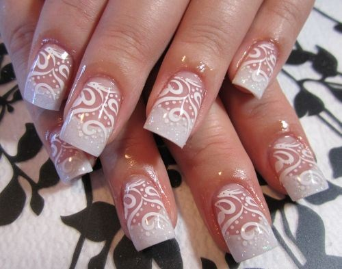 Day 73 Delicate Lace Nail Art Nails Magazine