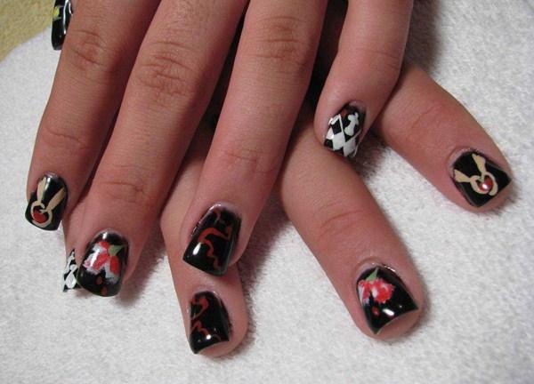 Day 202 Twilight Nail Art Nails Magazine