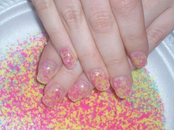Day 232 Paint Splatter Nail Art Nails Magazine