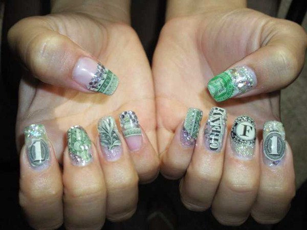 Day 289 cash money nail art nails magazine prinsesfo Images