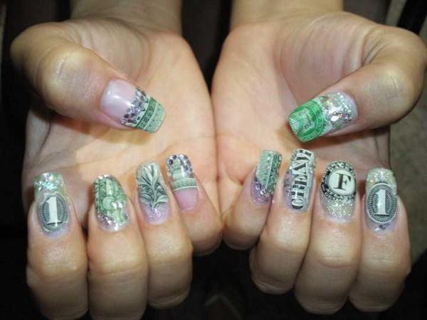 Day 289 Cash Money Nail Art Nails Magazine