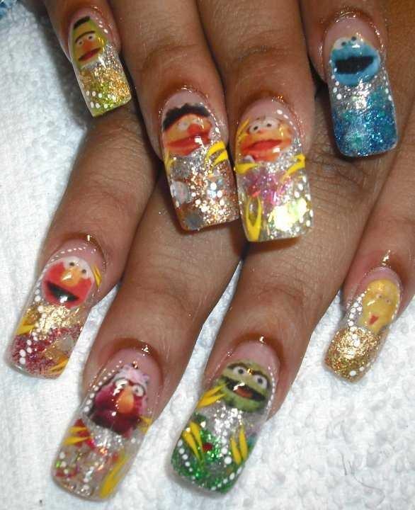 Day 292 Sesame Street Nail Art Nails Magazine
