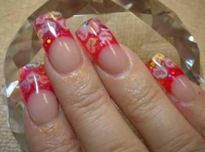 Day 44 Candy Hearts Fimo Nail Art Nails Magazine