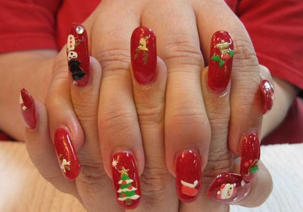 Extra Christmas Nail Art Designs Nails Magazine
