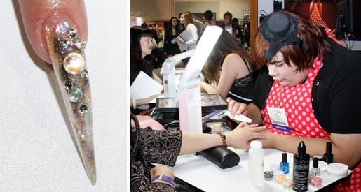 Isse 2012 Hands On Nail Art Demos Nails Magazine