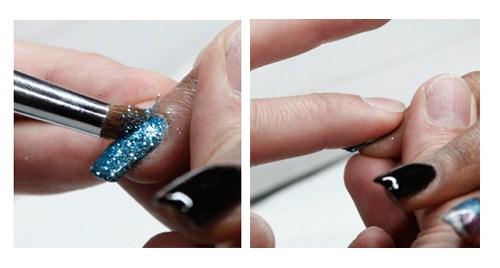 Isse 2012 Splattering Nail Art Nails Magazine