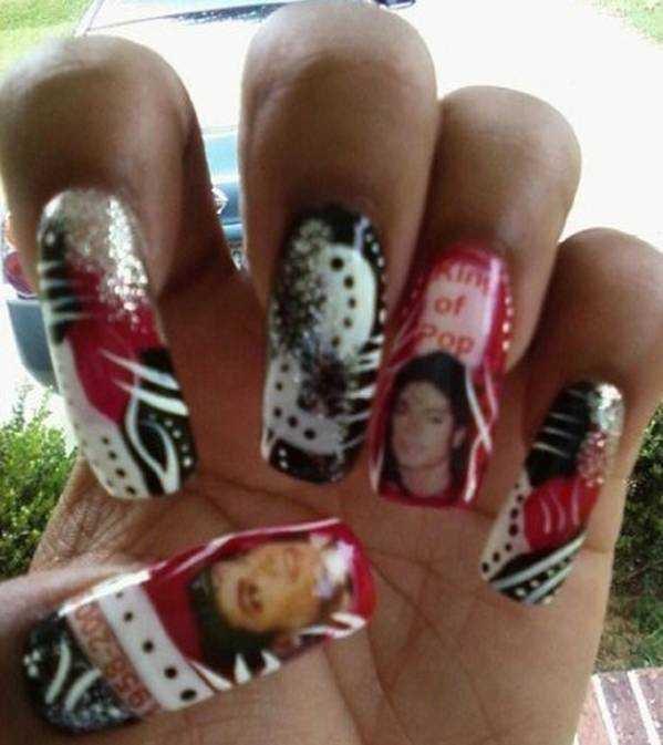 Nail Art Celebrates Michael Jackson Nails Magazine