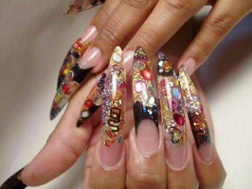 Puerto rican nail style classes nails magazine nails by marilyn garcia element beauty salon caguas puerto rico prinsesfo Choice Image