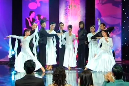 Dancesation is made up of everyday professionals, from dentists and nurses to engineers, who share in the love of ballroom dancing.