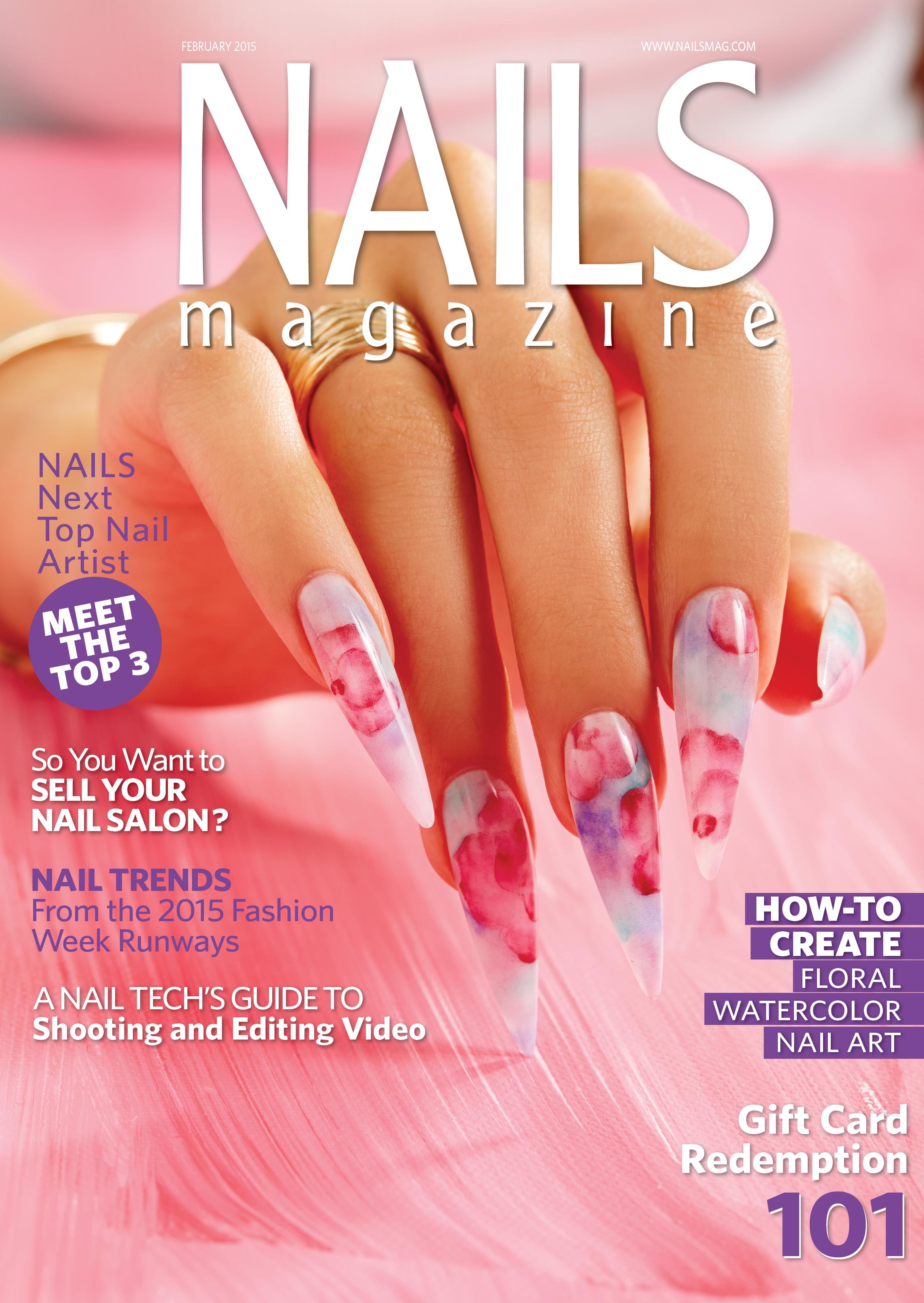 Nails Magazine February 2015 Issue
