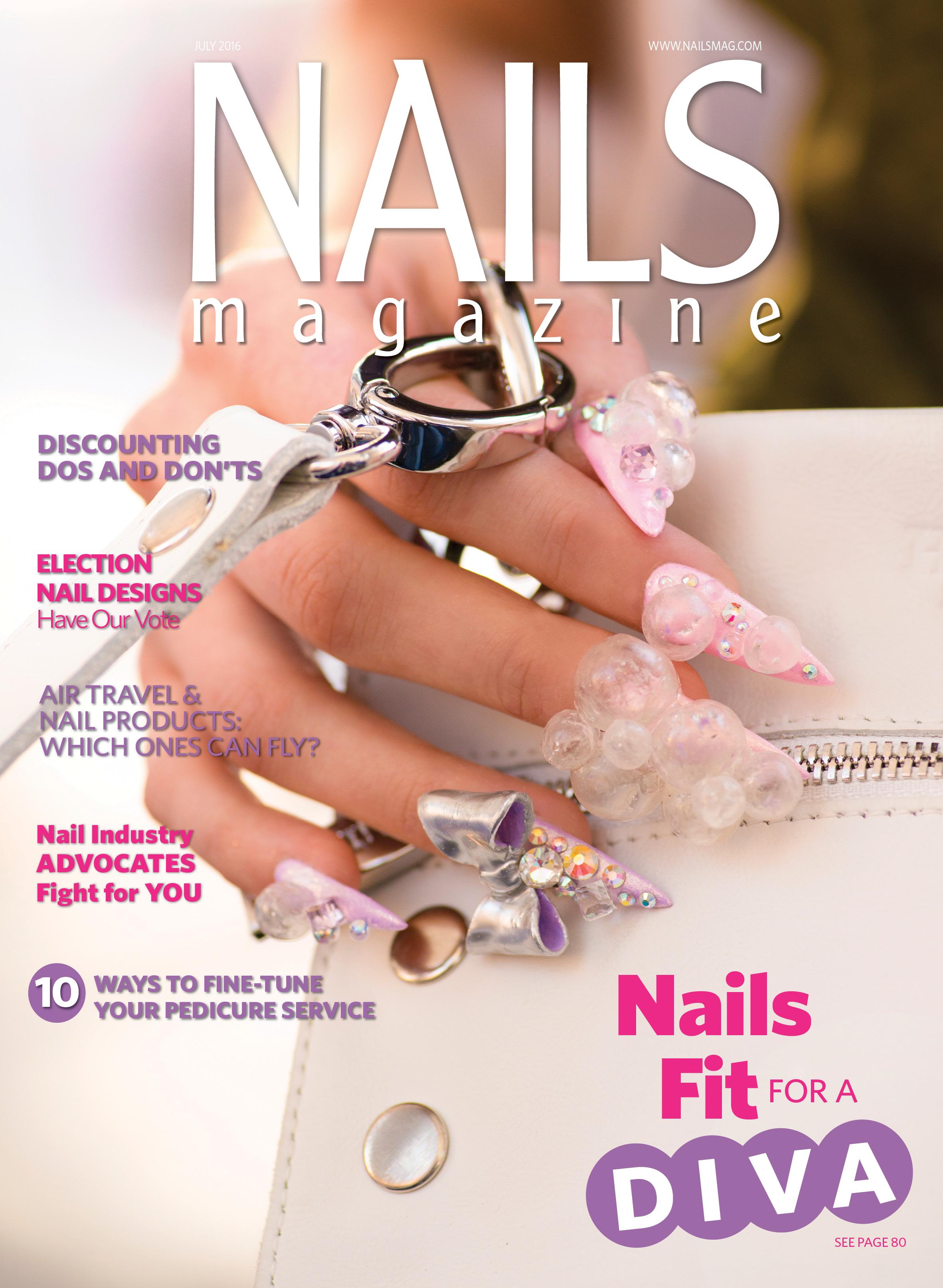 Nails Magazine July 2016 Issue