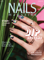 Latest cover of NAILS Magazine