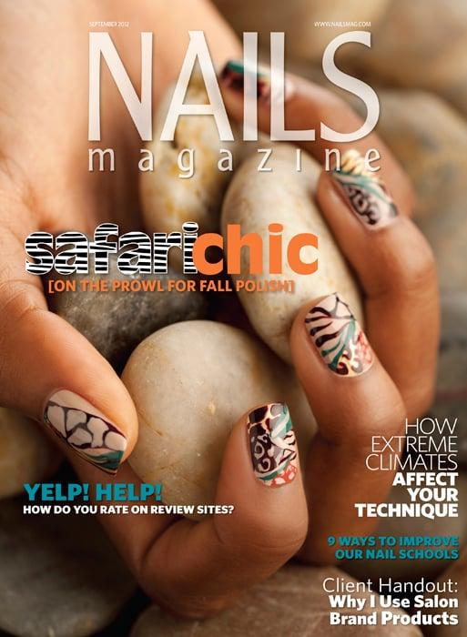 Nails Magazine September 2012 Issue