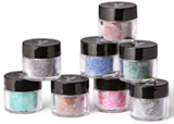 Young Nails' Cover Peach, Speed Clear, Fiesta – Block Party Collection, white and black acrylic paint